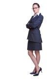 Confident businesswoman Stock Image