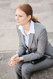 Confident Businesswoman in a City Stock Photos