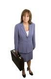 Confident Businesswoman Complete Stock Images