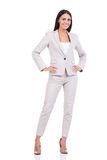 Confident businesswoman. Royalty Free Stock Images