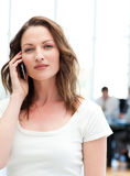Confident businesswoman on the phone Stock Photography