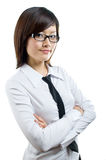 Confident businesswoman portrait Stock Photos