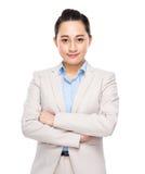 Confident businesswoman portrait Stock Photography