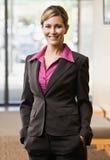 Confident businesswoman posing Royalty Free Stock Image