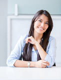 Confident businesswoman smiling Royalty Free Stock Image