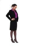 Confident businesswoman Stock Photos