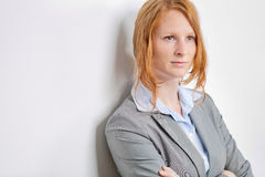 Confident Businesswoman with a Vision Stock Photography