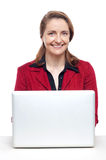 Confident businesswoman at work Royalty Free Stock Photography