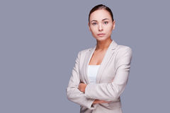 Confident businesswoman. Royalty Free Stock Photos