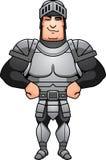Confident Cartoon Knight Stock Photo