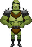 Confident Cartoon Orc Stock Images