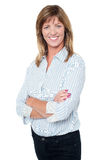 Confident casual businesswoman Royalty Free Stock Photo