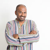 Confident casual Indian man stock photography