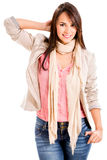 Confident casual woman Stock Image