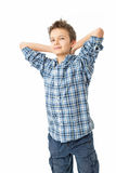 Confident & Charming Teenage Boy Royalty Free Stock Images