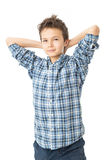 Confident & Charming Teenage Boy Stock Image