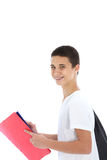 Confident cheerful teenage boy Royalty Free Stock Image