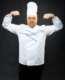 Confident chef Stock Photo
