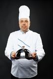 Confident chef Stock Photography