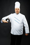 Confident chef Stock Image