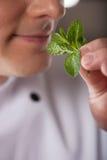 Confident chef. Royalty Free Stock Photo