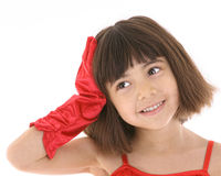 CONFIDENT CHILD Royalty Free Stock Photography