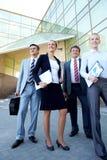 Confident companions Royalty Free Stock Photo