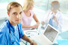 Confident consultant Stock Images