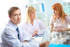 Confident consultant Stock Photo