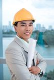 Confident contractor Royalty Free Stock Photos