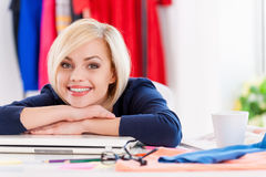 Confident and creative businesswoman. Stock Image