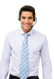 Confident Customer Service Representative Stock Photos
