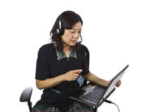 Confident Customer Support Agent Stock Photography