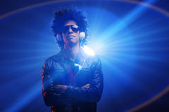 Confident DJ Royalty Free Stock Images