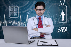 Confident doctor looking at camera Stock Image