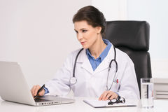 Confident doctor. Stock Photography