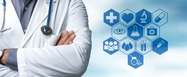 Healthcare services and consulting Royalty Free Stock Image