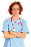 Confident doctor woman Stock Photography