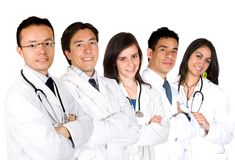 Confident doctors team Royalty Free Stock Photography