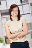 Confident elegant Asian businesswoman Stock Images