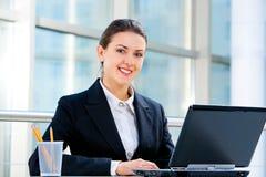 Confident employee Stock Images