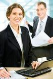 Confident employee Stock Photos