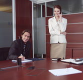 Confident employees aa Stock Photography