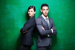 Confident employees Royalty Free Stock Photos