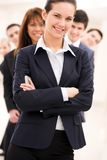 Confident employer Royalty Free Stock Photography