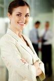 Confident employer Royalty Free Stock Photos