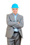 Confident engineer Stock Images