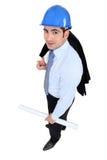 Confident entrepreneur Stock Image