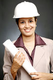 Confident female architect Royalty Free Stock Images