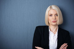 Confident female business executive Stock Photography